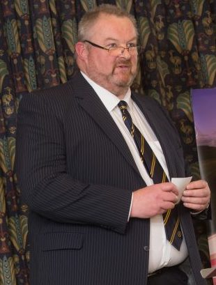Richard Davies chief executive of Wales Golf