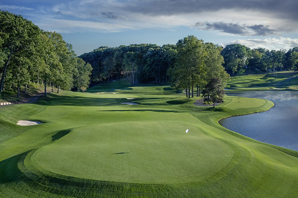 The TPC River Highlands golf course in Hartford, Connecticut