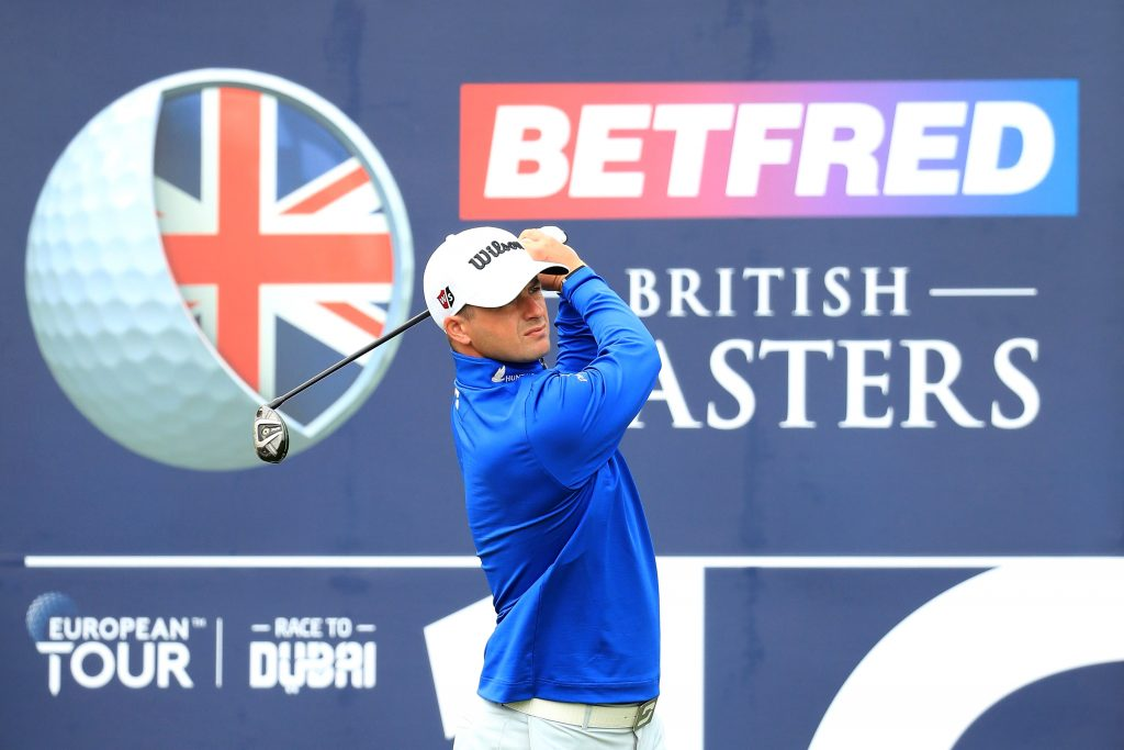 David Law was the first round leader of the 2020 Betfred British Masters at Close House