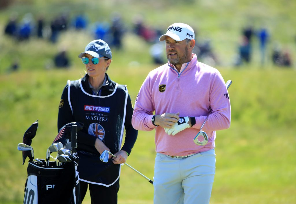 Lee Westwood, with fiancé Helen Storey, will host the European Tour's 2020 Betfred British Masters for a second time, from July 22-25