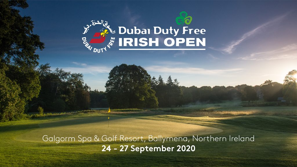 The 2020 Dubai Duty Free Irish Open will move from Kilkenny's Mount Juliet to Galgorm Castle, in County Antrim, because of the COVID-19 pandemic