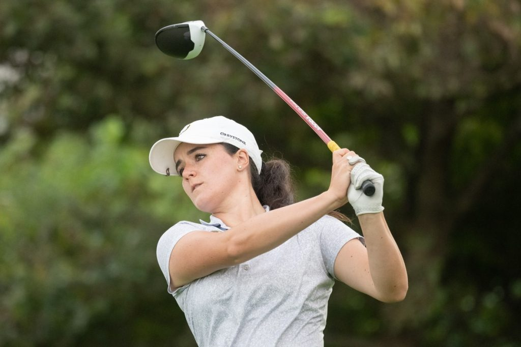 HAMPSHIRE'S Emma Allen, from Stoneham Golf Club, runner up in the 2020 English Women's Amateur Strokeplay Championship at Burnham & Berrow GC