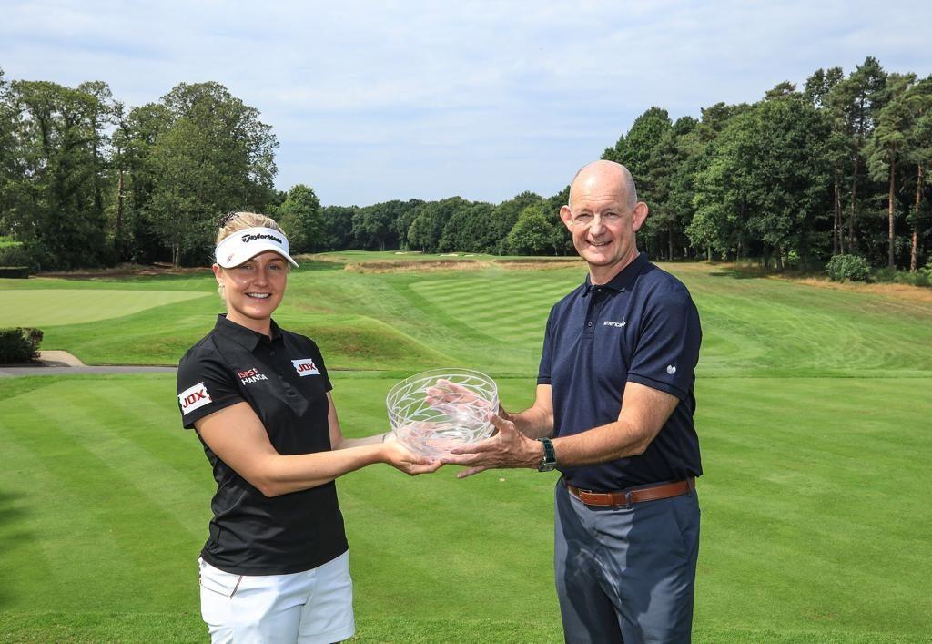 Woburn's Charley Hull winner of the 2020 Rose Ladies Series American Golf Order of Merit