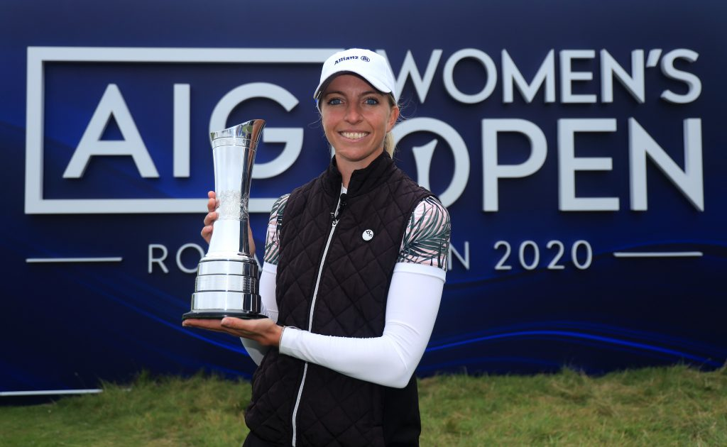 Sophia Popov won the 2020 AIG Women's Open at Royal Troon by two shots creating history as the first German Major winner