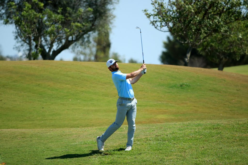 Liam Johnston led the 2020 Portugal Masters after shooting a 61 in the first round at Vilamoura's Dom Pedro Victoria Golf Course
