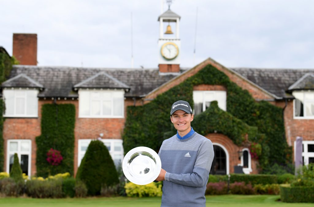 Rasmus Højgaard bea Justin Walters in a play-off to win the 2020 ISPS Handa UK Championship at The Belfry