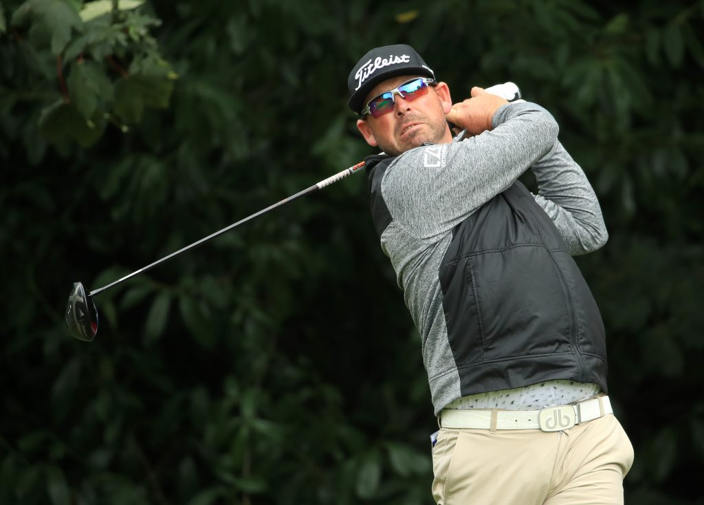 South Africa's Justin Walters who lost a play-off in the 2020 ISPS Handa UK Championship at The Belfry