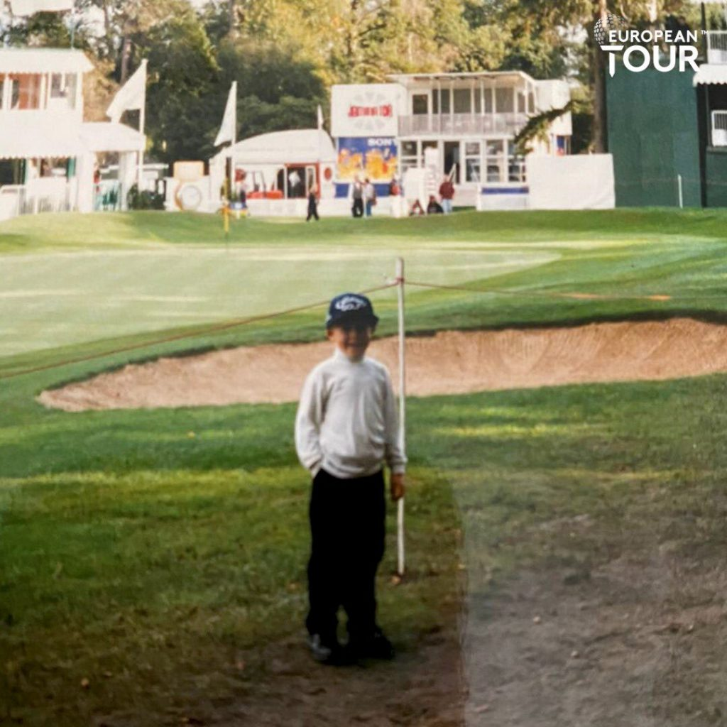 Tyrrell Hatton started going to Wentworth when he was five in 1996 – five years later he was winning Wee Wonder events