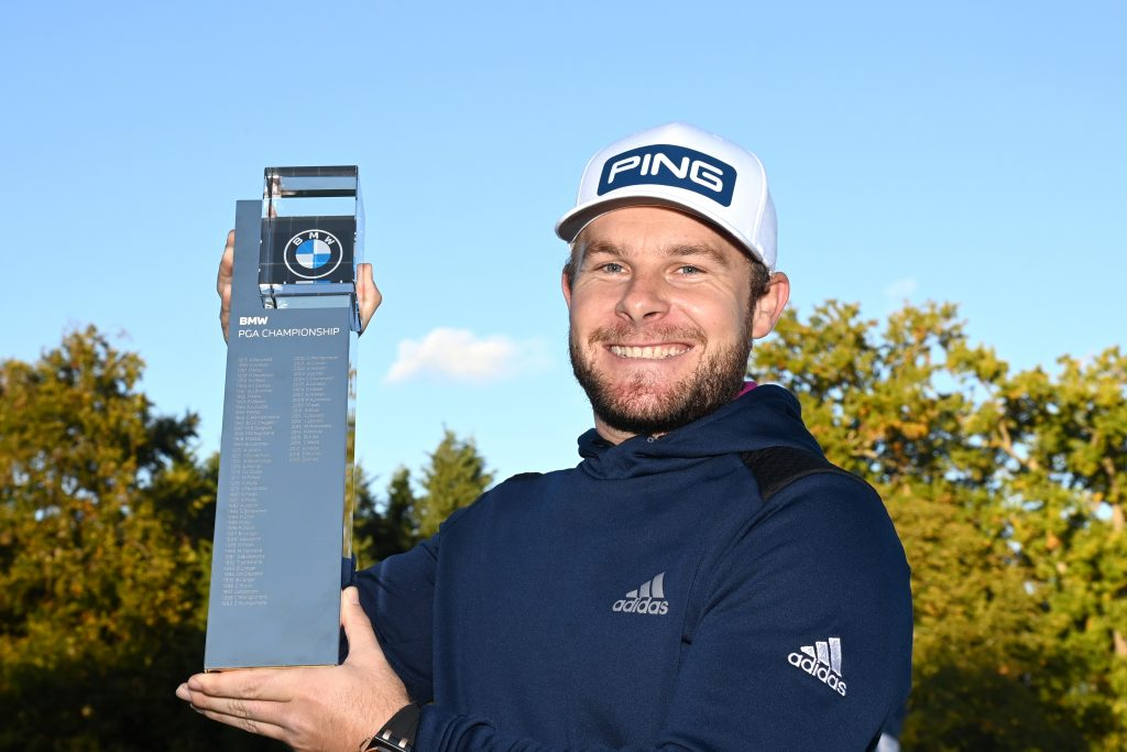 Tyrrell Hatton, the former Wee Wonder winner, who claimed the 2020 BMW PGA Championship at Wentworth